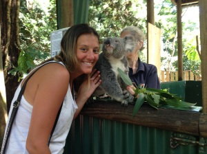 Me with my Koala buddy