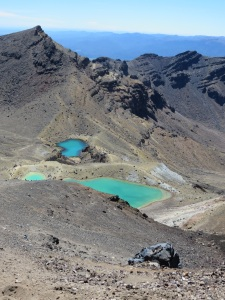 Some crater lakes at the top!