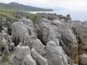 The pancake rocks.  If you are into rocks.  I'm sure Bonnie is.