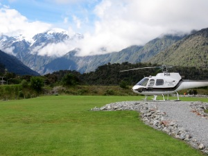 Our ride to the glacier!