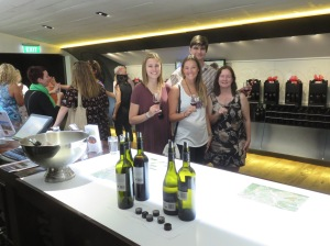Our Kiwi wine tasting friends