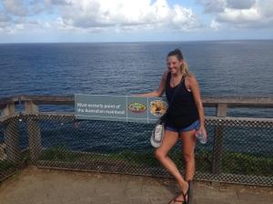 Easternmost point of Australia