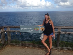 Easternmost point of Australia