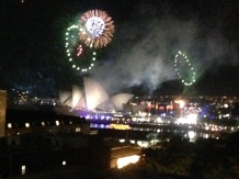 Fireworks over the Opera house!