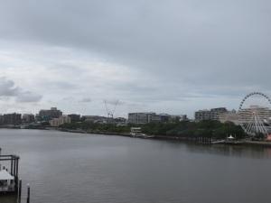 A gloomy Brisbane