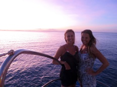 Stina and I at Sunset