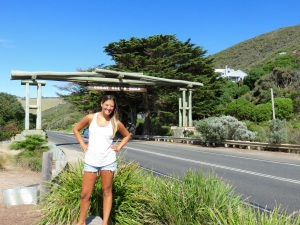 Entrance to the Great Ocean Road