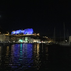 Bonifacio at night