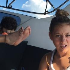Wilma's feet