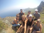 Our hike crew...minus the big girls who were far behind