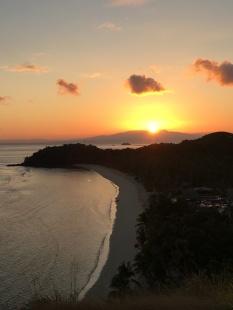 Last sunrise on Mana