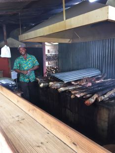 BBQ man at scotchies