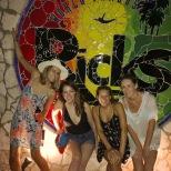 The ladies at Rick's