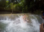 Nikki in the falls