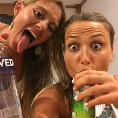 Vodka-to-the-face: Our trademark