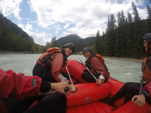 Kicking Horse river fun