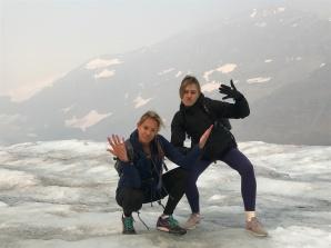 Thug Life on the glacier