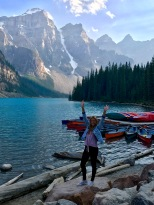 Moraine Lake happiness