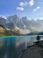 Moraine Lake in all it's glory
