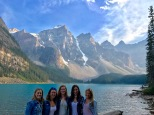 Troop 638 at Moraine Lake