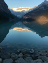Sunrise at Lake Louise