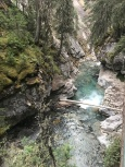 Johnston Canyon hike to the lower falls