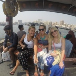 Abra boat ride on the Dubai Creek