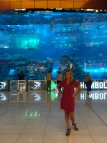 The mall aquarium