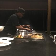 Our Teppanyaki chef