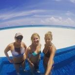 Three Amigos at the pool