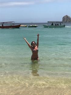 Kristie in Cabo