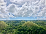 The not-so-chocolate hills