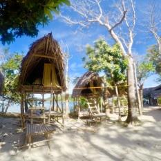 Sleeping huts