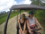 Party in the dune buggy