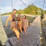 Bridge photo shoot