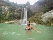Me at Camiguin Falls