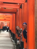 Dorks at Fushimi Inari Shrine