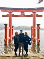 The Hakone Shrine on Lake Ashi