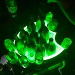 Bottle service at 1 Oak Tokyo