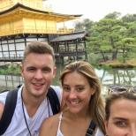 Golden Pavilion selfie