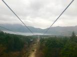 Hakone ropeway to Lake Ashi