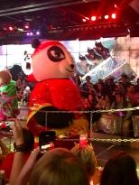 Every robot show needs a giant panda