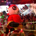 Every robot show needs a giant panda