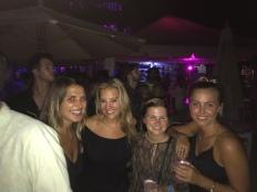 The girls on the dance floor