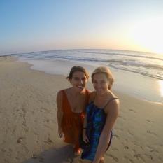 Beautiful Bentota Beach sunset