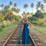 The Sri Lanka costal railway