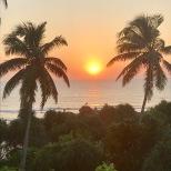 Bentota beach sunset