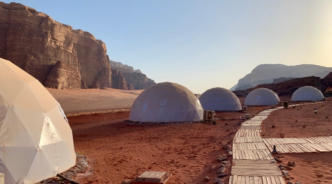 Mars on Earth in the Wadi Rum Desert