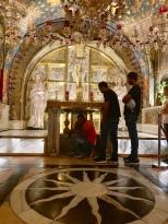 Where Jesus of Nazareth was crucified