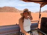 Desert jeep ride through Wadi Rum